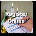 Register a funeral online