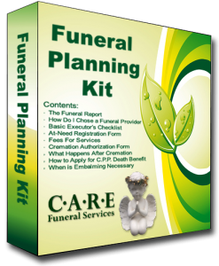 Funeral Planning KIt - Care Funeral Services